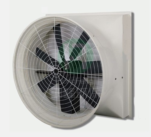 FRP 7 leaf suction fan