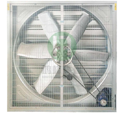 Galvanized sheet suction fan